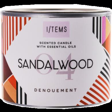 Ароматна свещ - Sandalwood 400g