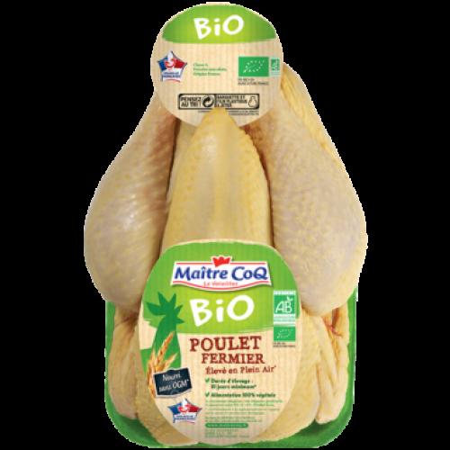 Био Пиле - Свободно Отгледано ~1.5kg (Цена за килограм)