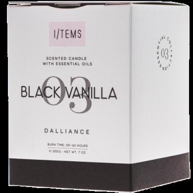 Ароматна свещ - Black Vanilla