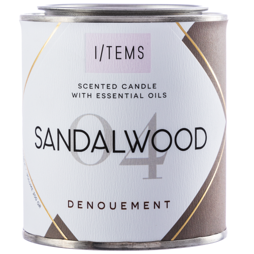 Ароматна свещ - Sandalwood