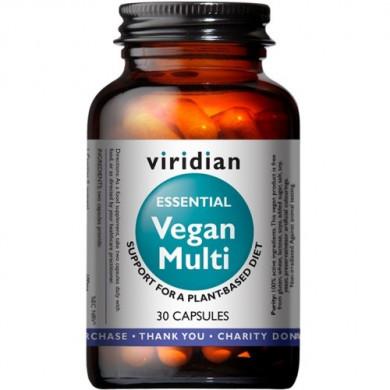 Веган Мулти (Essential Vegan Multi) - 30 капсули