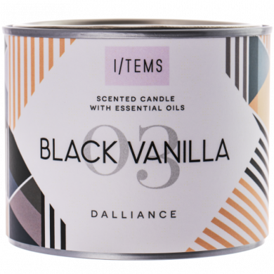 Ароматна свещ - Black Vanilla 400g
