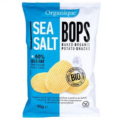 Био Картофен снакс с морска сол 85g