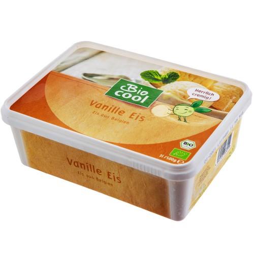 Био Млечен Сладолед с Ванилия 1000ml