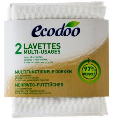 Еко Многофункционална Кърпа за Почистване 2бр