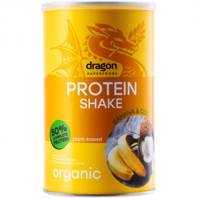 Био Протеинов шейк с банан и кокос 450g