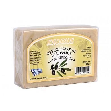 Натурален бял сапун със зехтин 100g