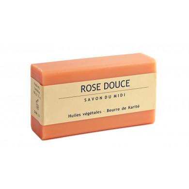 Сапун с аромат на роза и масло от карите 100g