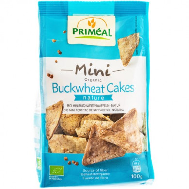 Био Мини триъгълни бисквити от елда Без глутен 100g