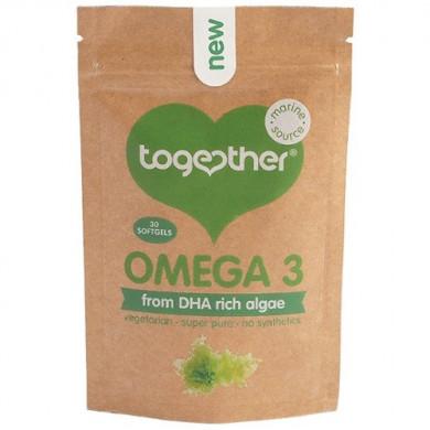 Омега-3 DHA от водорасли 30капсули