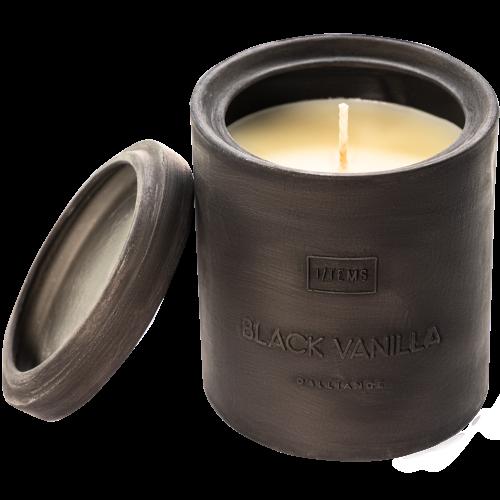 Ароматна Свещ в Керамична Капсула - Black Vanilla