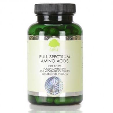 Пълен спектър Аминокиселини - 120 капсули