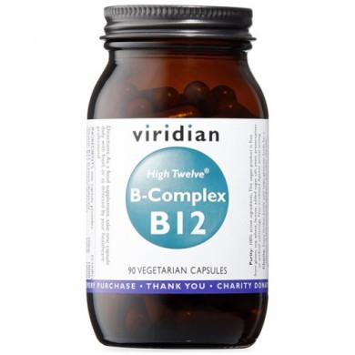 B-Комплекс с високо съдържание на В12 - 90капсули