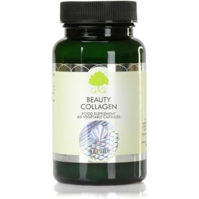 Beauty Collagen (хидролизиран Рибен Колаген, Витамин С и Хиалуронова киселина) - 60 капсули