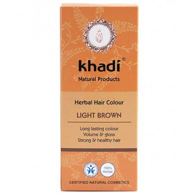 Билкова боя за коса - Светло кафява 100g