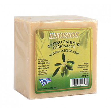 Натурален бял сапун със зехтин 200g